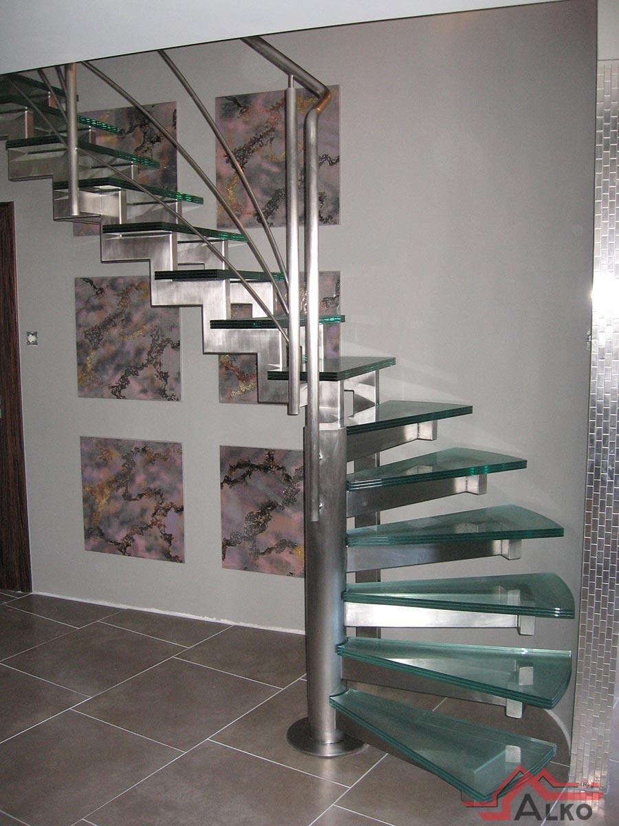 Schody Szklane Balustrady Nierdzewne Czestochowa Schody Balkony